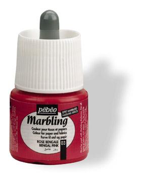 Pebeo 45 cc Marbling Ebru Boyası 03 Bengal Pink