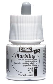 Pebeo 45 cc Marbling Ebru Boyası 10 White
