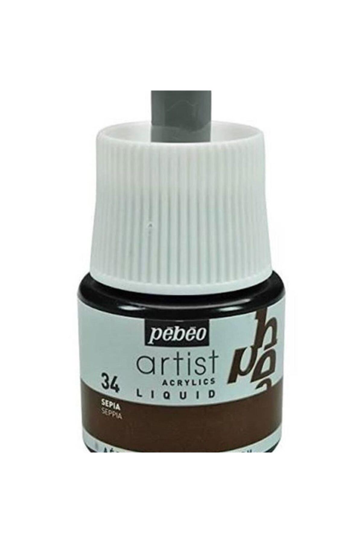 Pebeo Colorex Teknik Akrilik Boya 45ml Sepia