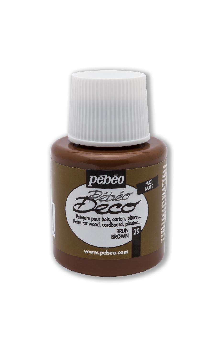 Pebeo Deco Akrilik 110 ml NO: 29 brown