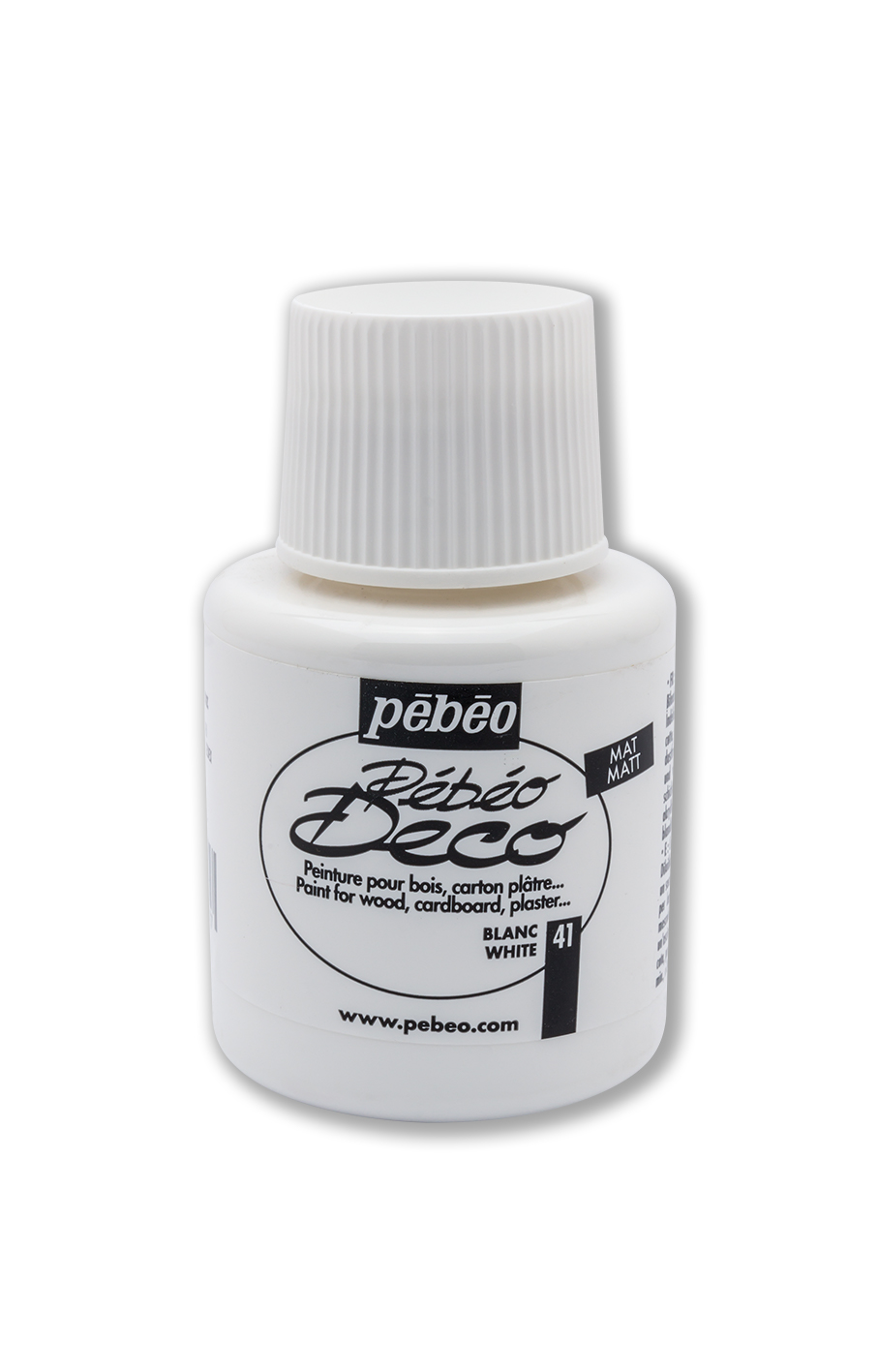 Pebeo Deco Akrilik 110 ml  NO:  White