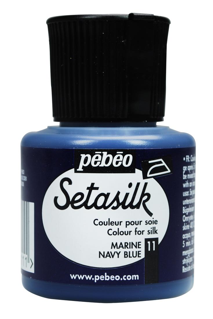 Pebeo Seta Silk 45 cc İpek Boyası 10 İris violet
