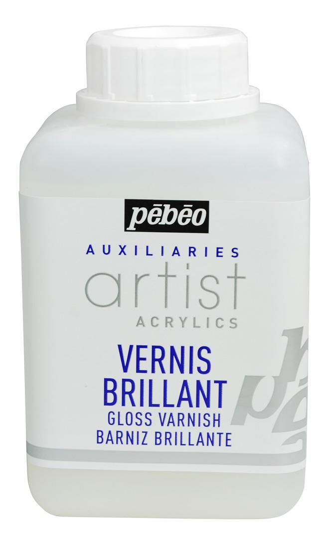 Pebeo Su Bazlı Akrilik Parlak Vernik 500 ML