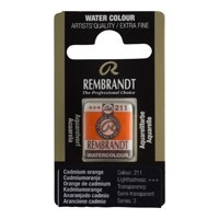 REMBRANDT SULU BOYA TABLET CADMIUM ORANGE  211