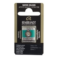 REMBRANDT SULU BOYA TABLET PHTHALO GREEN 675