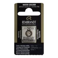 REMBRANDT SULU BOYA TABLET TITANIUM WHITE  112