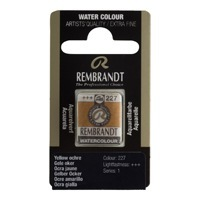REMBRANDT SULU BOYA TABLET YELLOW OCHRE  227