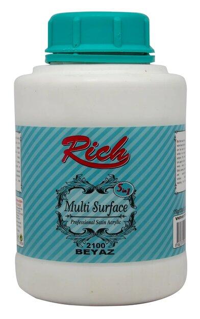 Rich Multi Surface Akrilik 1750gr 2100 Beyaz