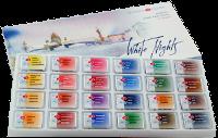 St. Petersburg White Nights Tablet Suluboya Seti 24 Renk  Karton Kutu