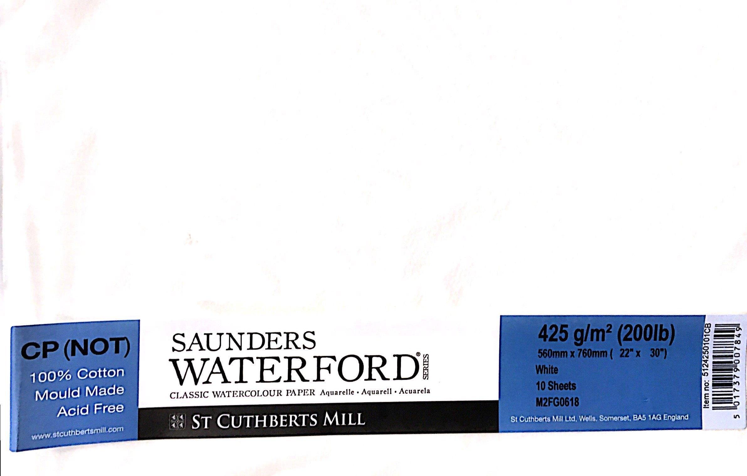 SAUNDERS WATERWORD COLD PRES 425G 56*76 10 LU