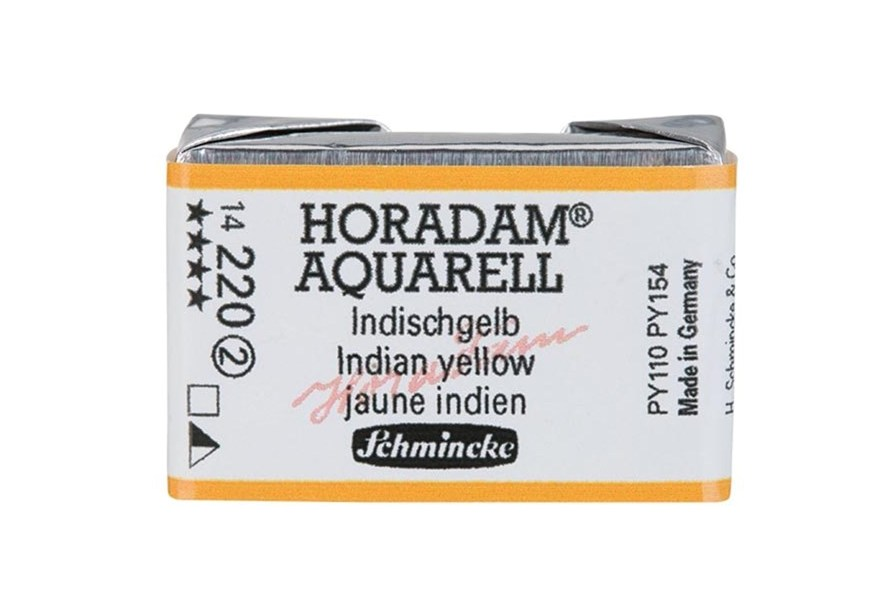 Schmincke Horadam Aquarell Artist Sulu Boya Tam Tablet Seri2 220 Indian Yellow