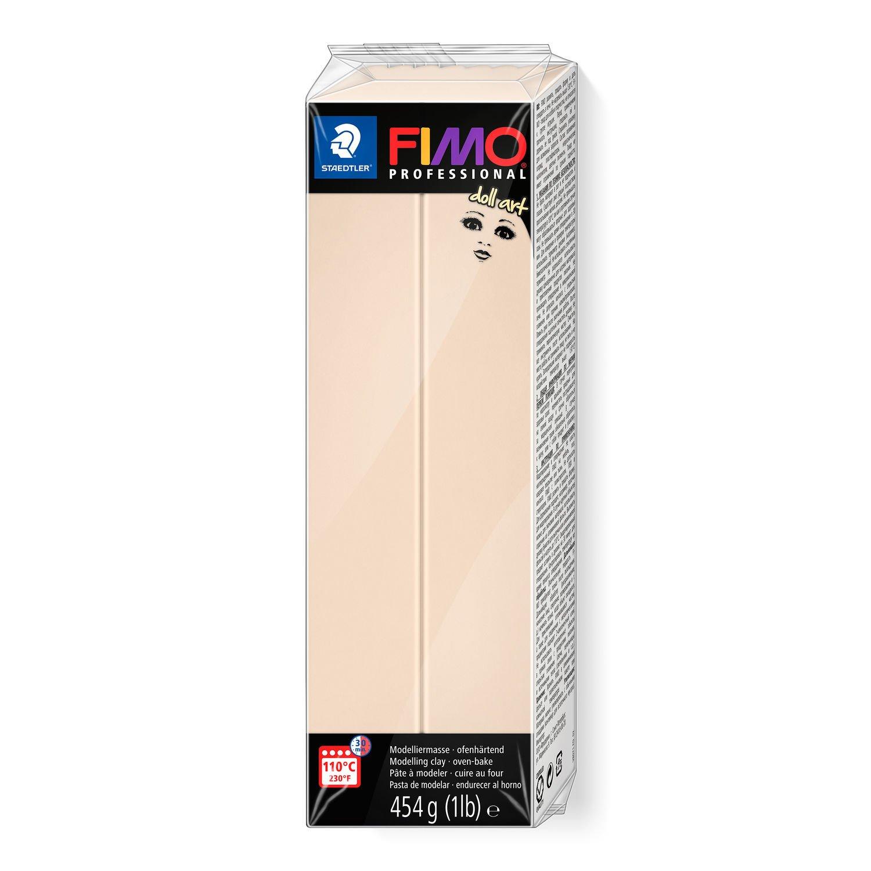 Staedtler Fimo Polimer Kil 454 GR  8071-44  Beige (Doll)