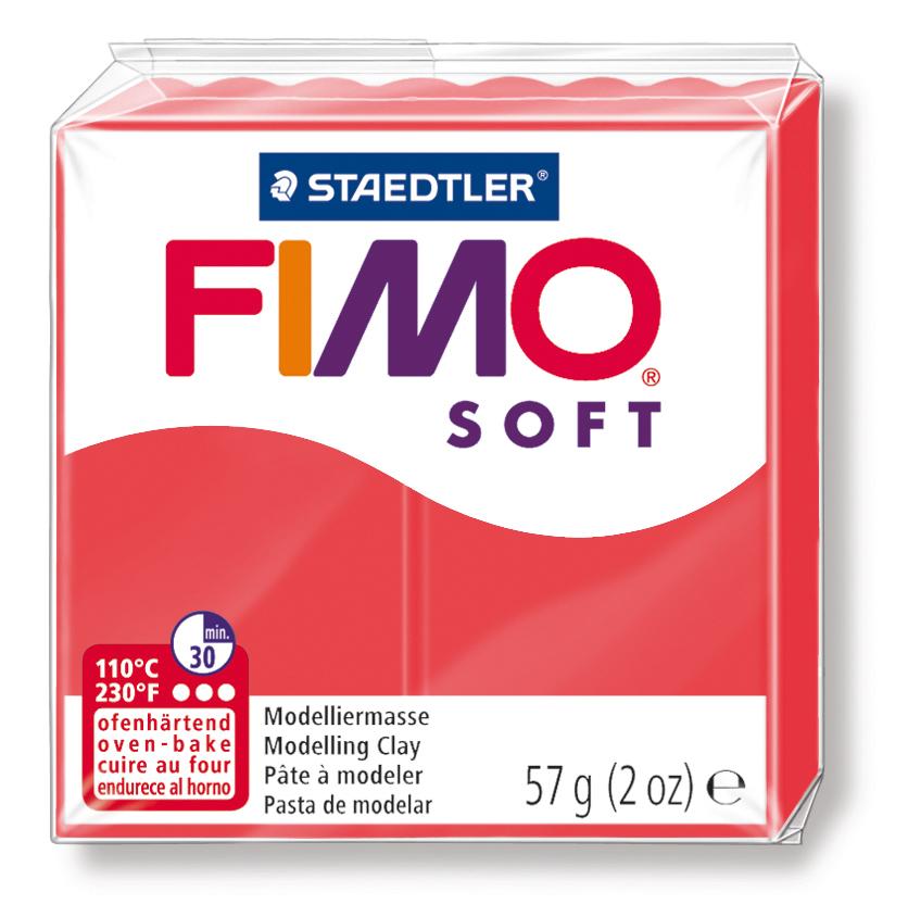 Staedtler Fimo Soft Polimer Kil 57 GR. Flamenco 8020-40