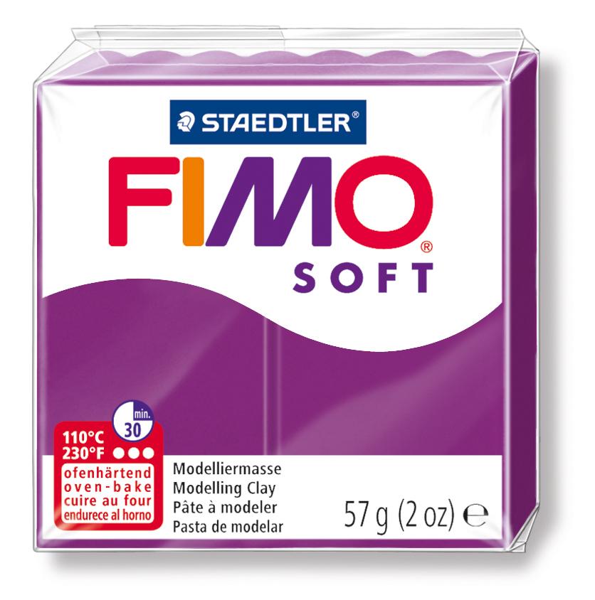 Staedtler Fimo Soft Polimer Kil 57 GR. Purpure 8020-61