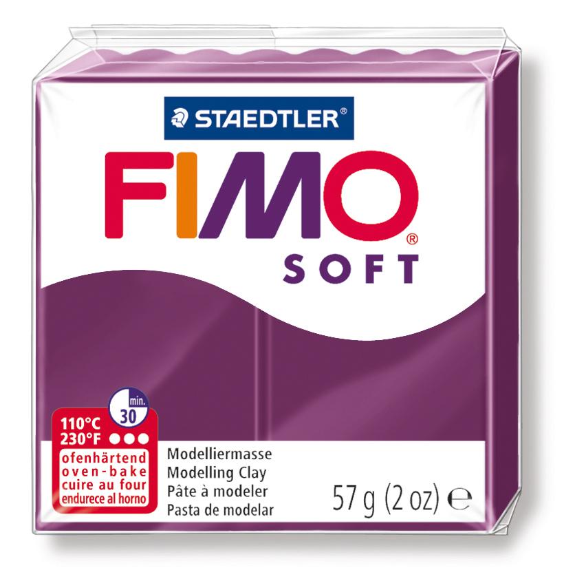 Staedtler Fimo Soft Polimer Kil 57 GR. Royal Violet  8020-66