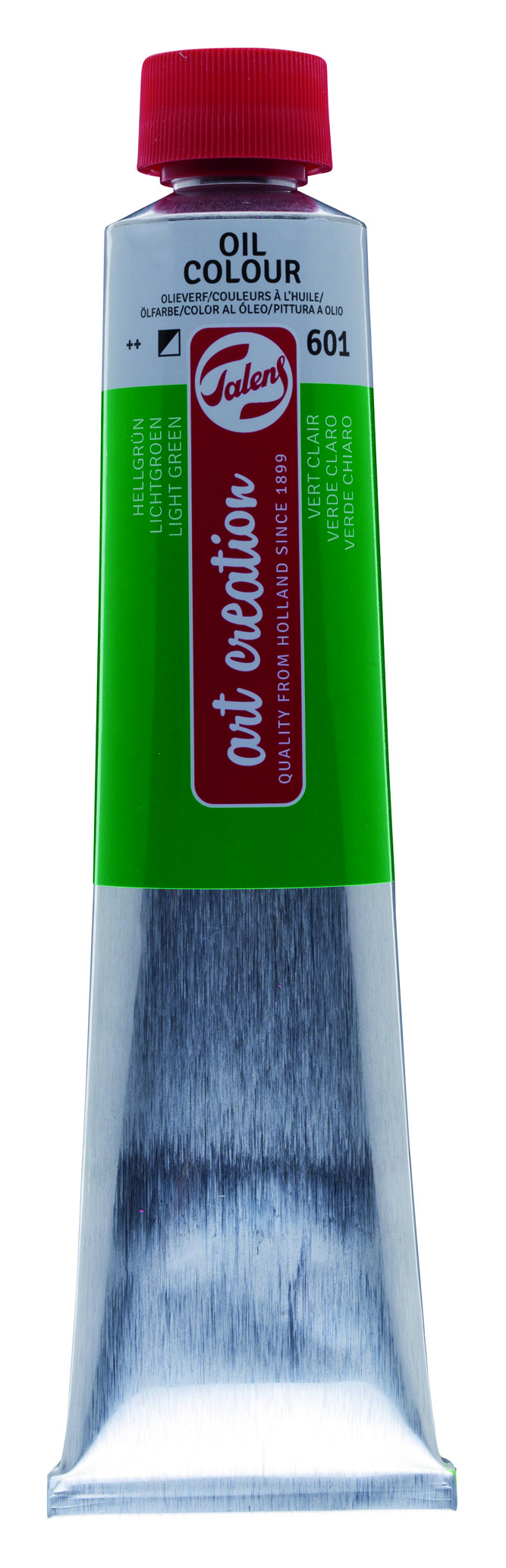 TALENS ARTCREATİON 200 ML YAĞLI BOYA 601 LIGHT GREEN