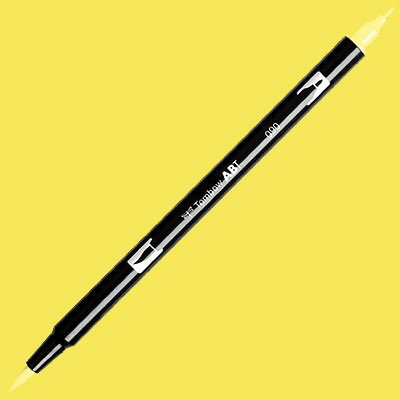 TOMBOW AB-T DUAL PEN BRUSH MARKER  Baby Yellow 090