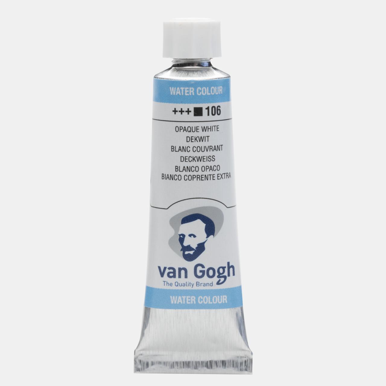 Van Gogh 10 ml Tüp Sulu Boyalar 106 Opaque white