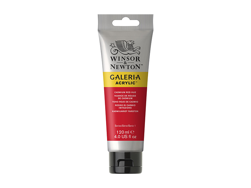 WİNSOR&NEWTON GALERİA AKRİLİK BOYA 120ML  Cadmium Red Hue 095