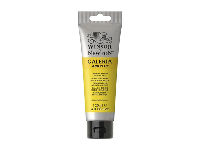 WİNSOR&NEWTON GALERİA AKRİLİK BOYA 120ML  Cadmium Yellow M.Hue 120