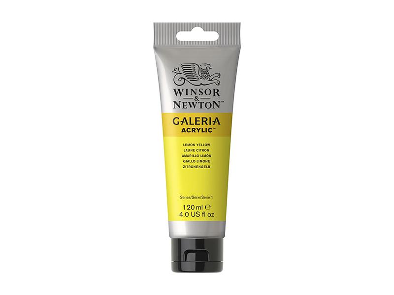 WİNSOR&NEWTON GALERİA AKRİLİK BOYA 120ML  Lemon Yellow Hue 346