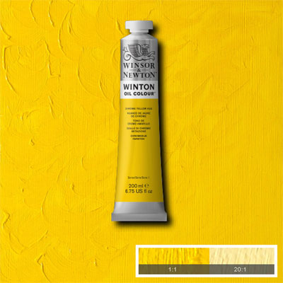 Winsor & Newton Winton Yağlı Boya 200ml Chrome Yellow Hue 149 (13)