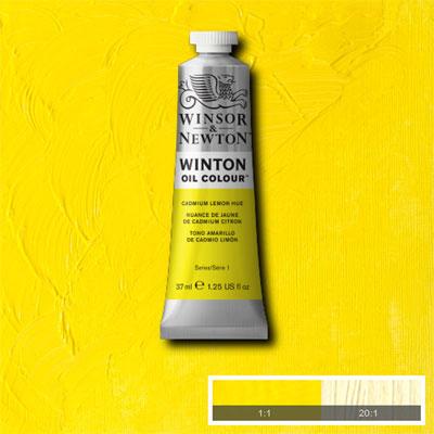 Winsor & Newton Winton Yağlı Boya 37ml Cadmium Lemon Hue 087