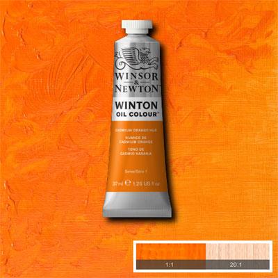 Winsor & Newton Winton Yağlı Boya 37ml Cadmium Orange Hue 090
