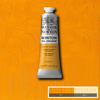 Winsor & Newton Winton Yağlı Boya 37ml Cadmium Yellow Hue 109