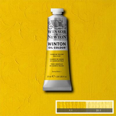 Winsor & Newton Winton Yağlı Boya 37ml Cadmium Yellow Pale Hue 119