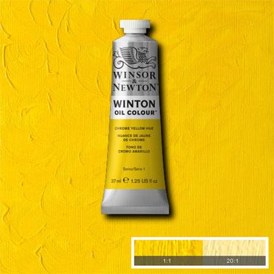 Winsor & Newton Winton Yağlı Boya 37ml Chrome Yellow Hue 149