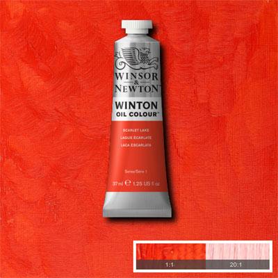 Winsor & Newton Winton Yağlı Boya 37ml Scarlet Lake 603