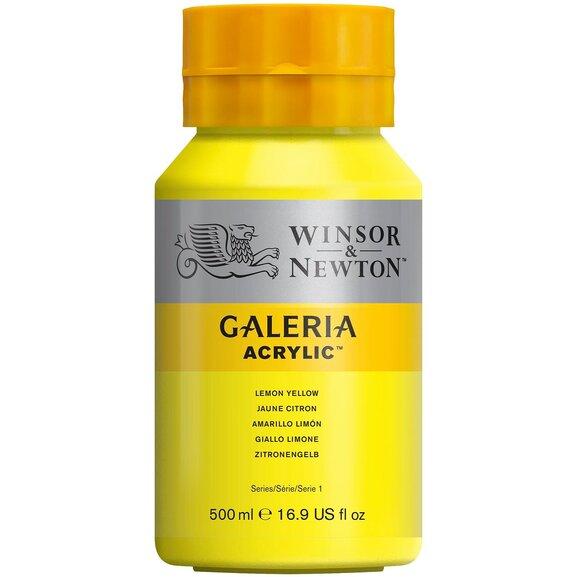 WN Galeria Akrilik Boya 500ml Lemon Yellow 346