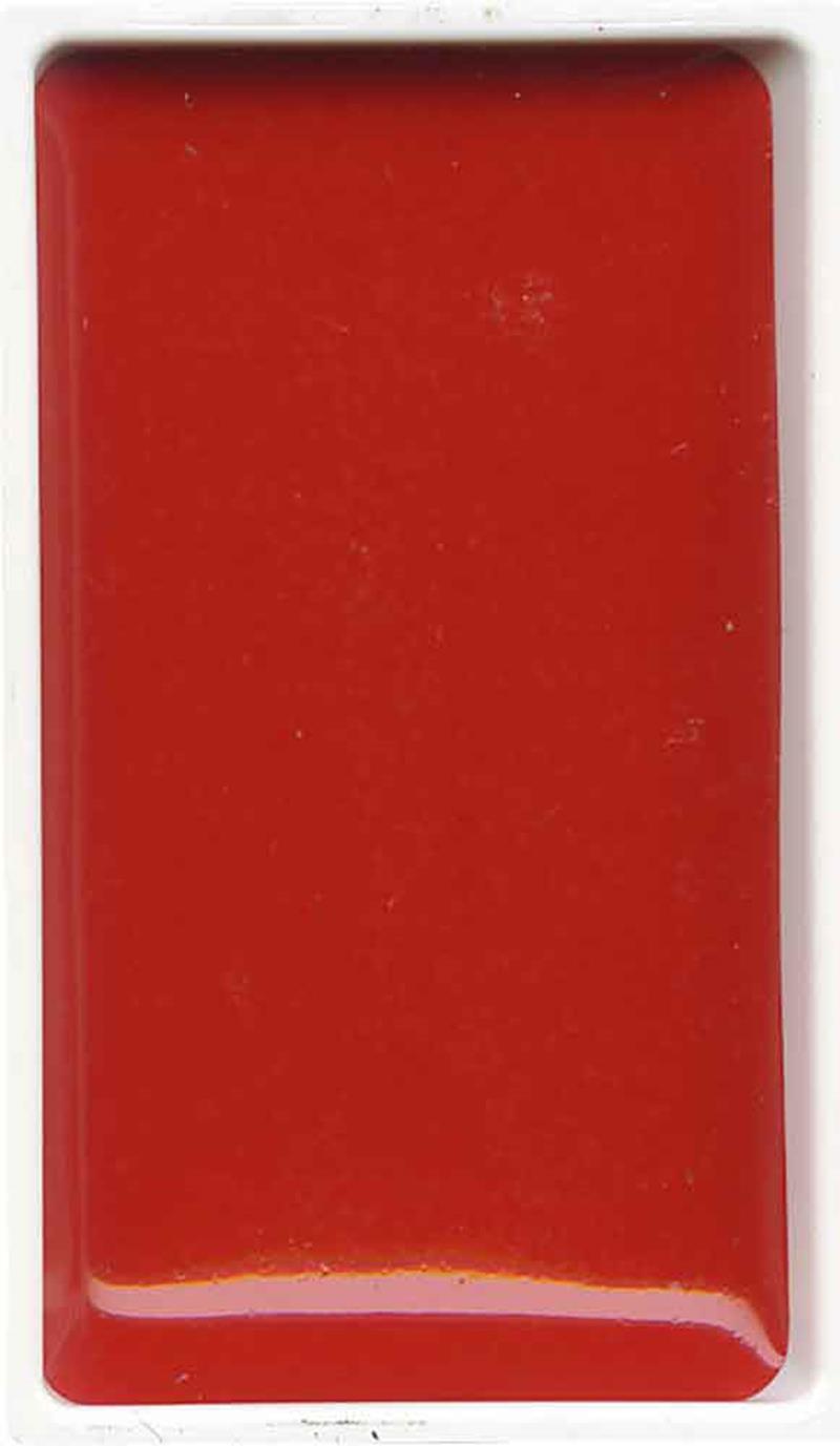 Zig Gansai Tambi Sulu Boya Tablet No:30 Cadmium Red