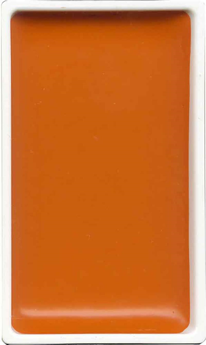 Zig Gansai Tambi Sulu Boya Tablet NO: 33 Cadmium Orange