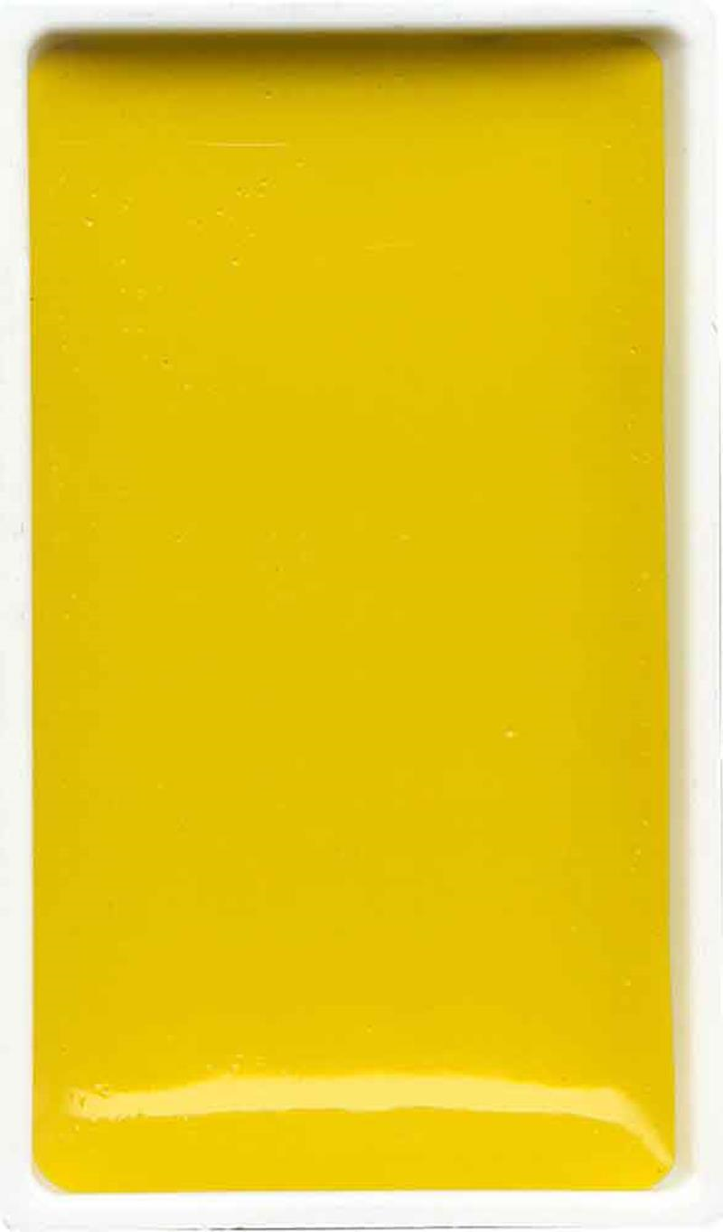 Zig Gansai Tambi Sulu Boya Tablet No: 43 Cadmium Yellow