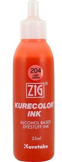 ZiG KURECOLOR MÜREKKEP  204 LIGHT CARMINE